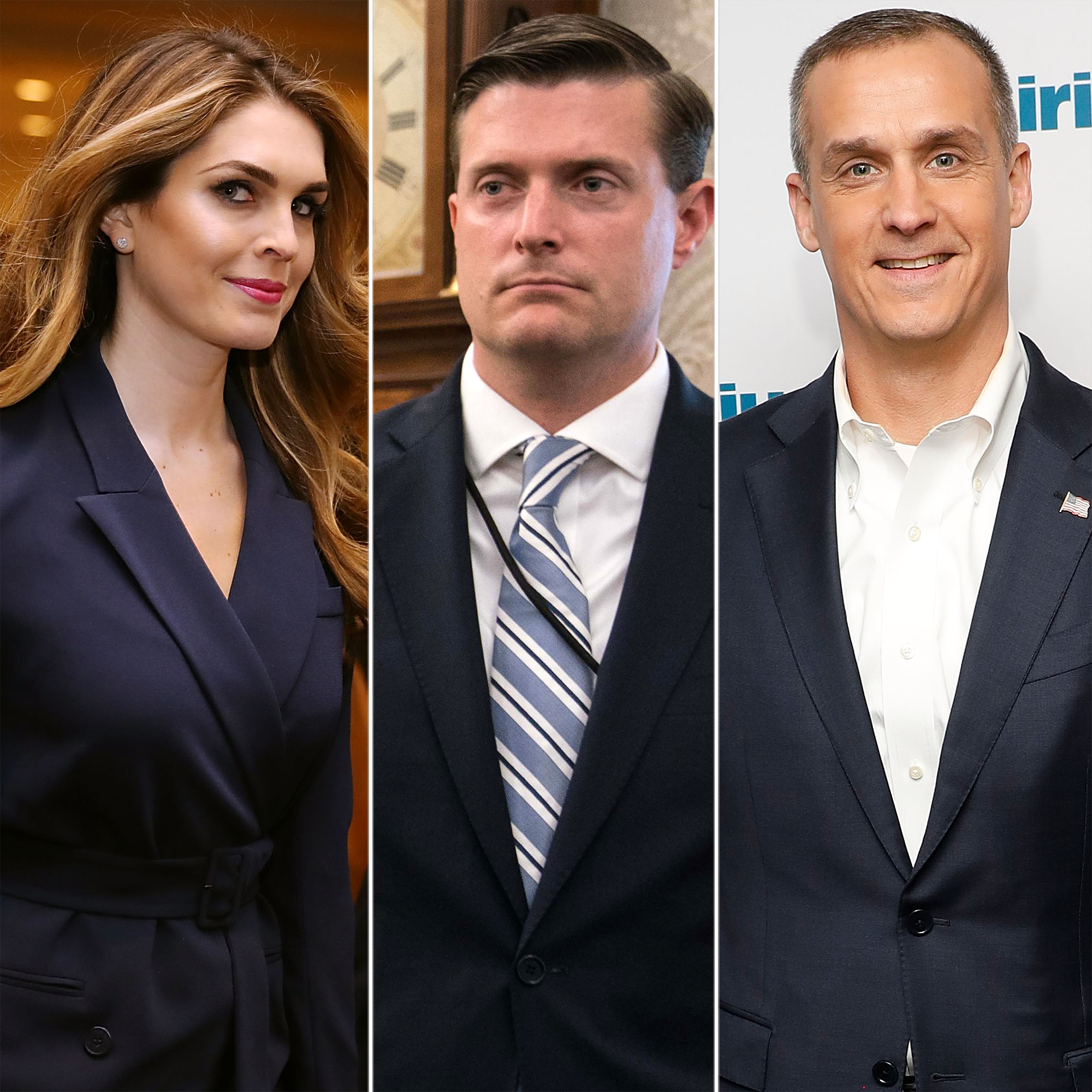 Hope Hicks, Rob Porter and Corey Lewandowski love triangle
