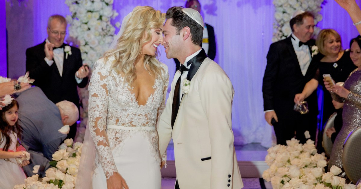Dancing With the Stars' Emma Slater, Sasha Farber Are Married: Pics!