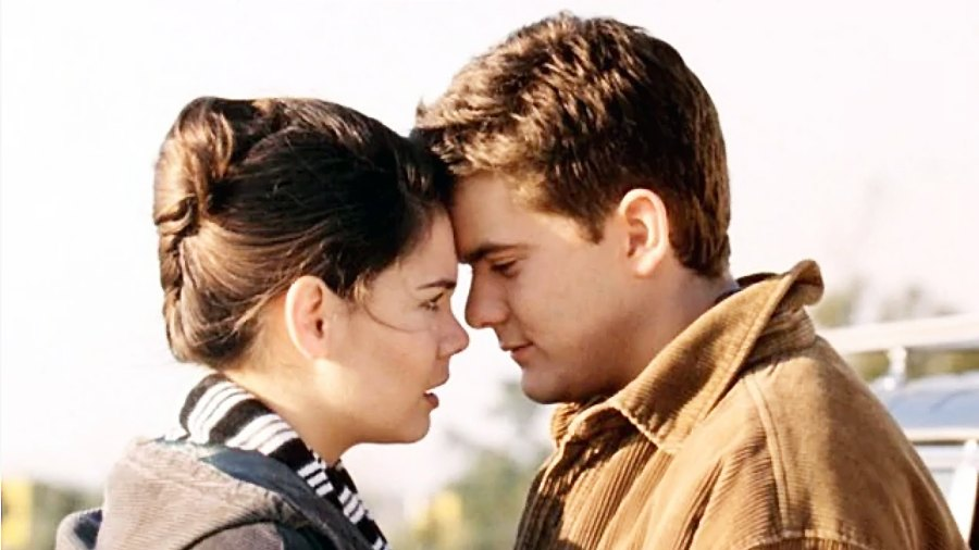 Katie Holmes Joshua Jackson Joey and Pacey Would Be Divorced Dawson's Creek