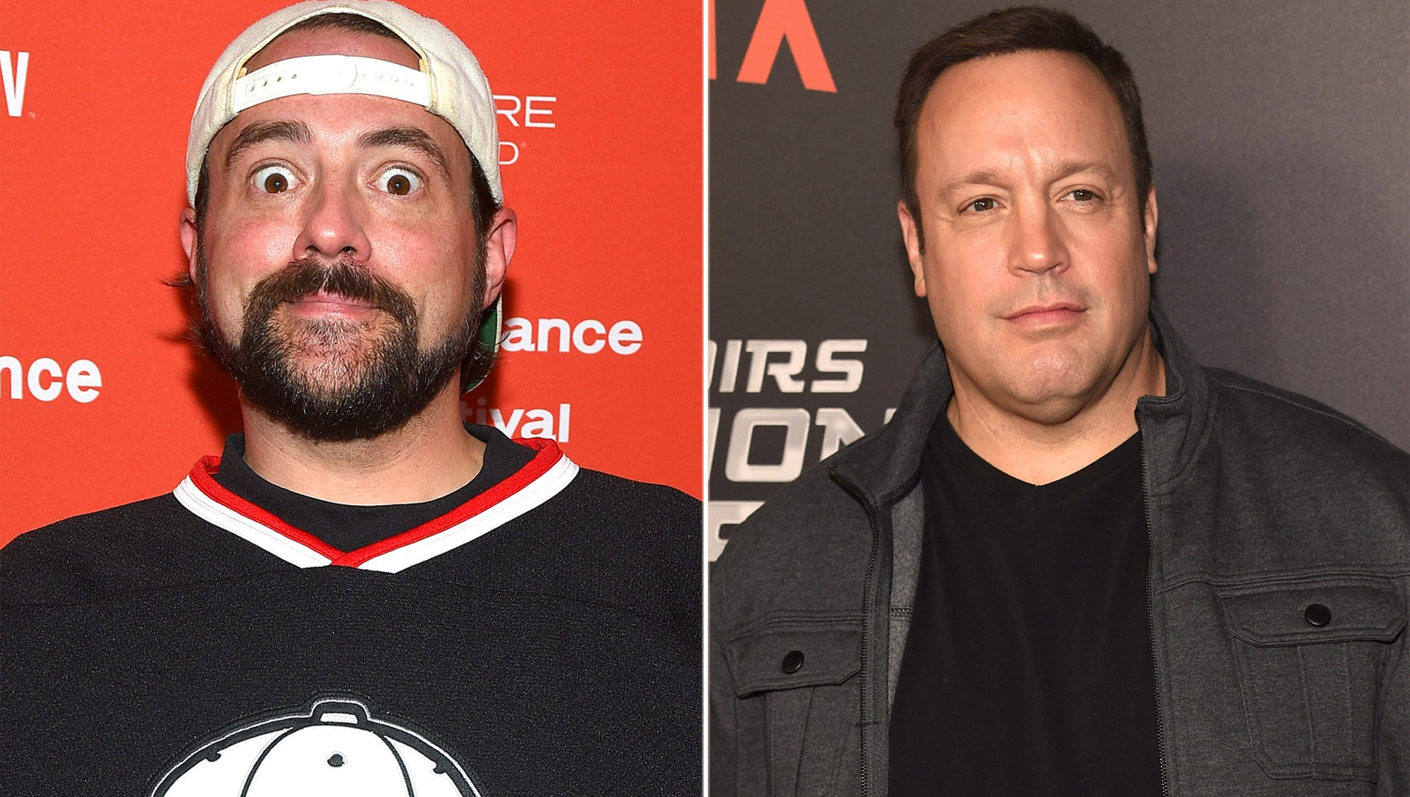 Kevin Smith and Kevin James