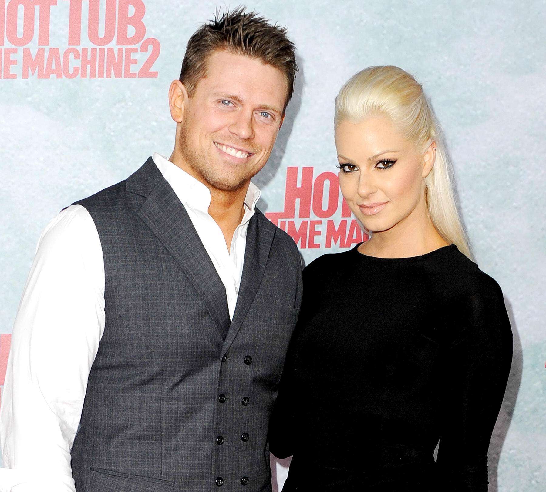Congratulations To The Miz & Maryse On Their Early Arrival