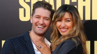 Matthew Morrison and Renee Puente revel son