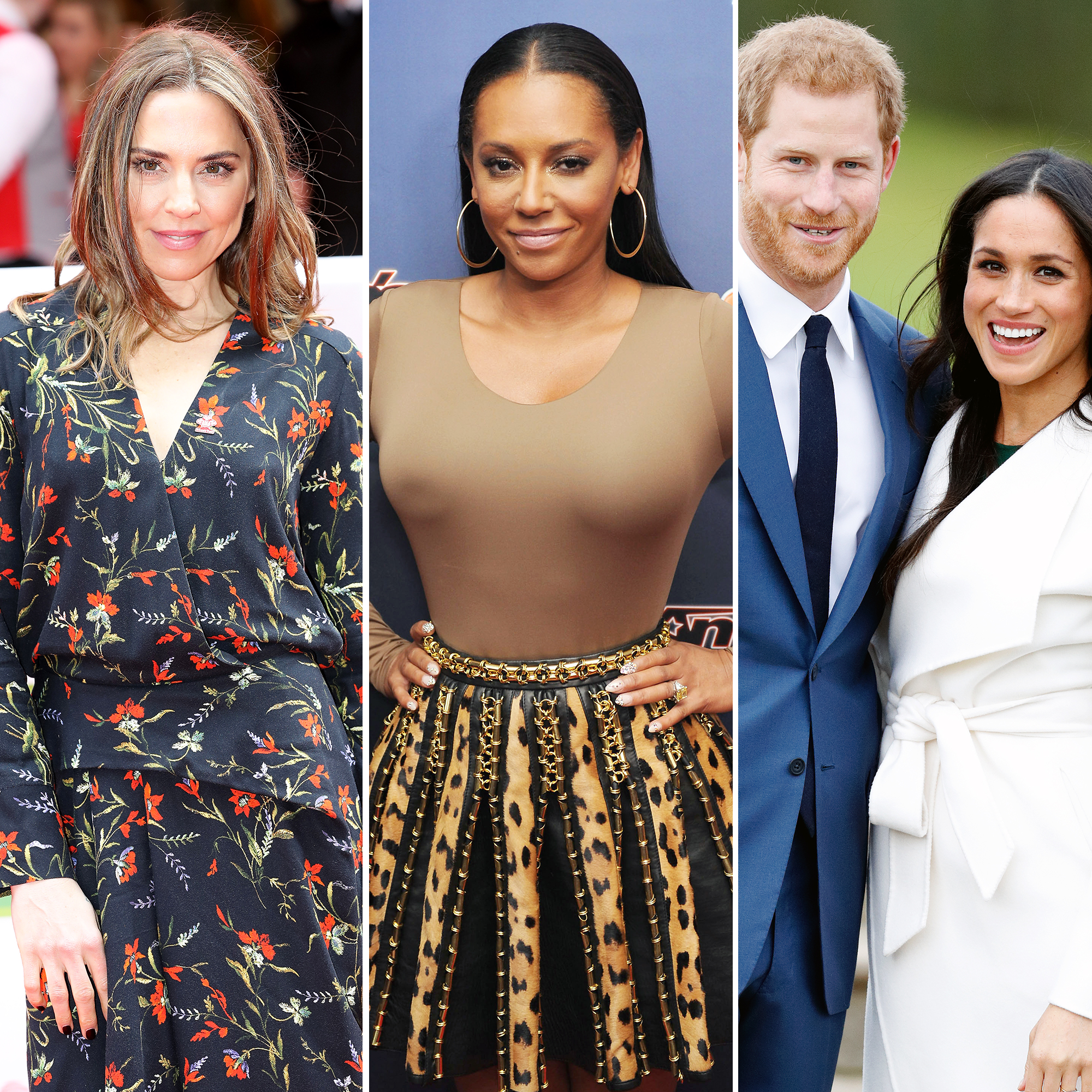 Mel B Archives   Us Weekly Mel C  Mel B Was  Joking  About Spice Girls Performing at Royal Wedding