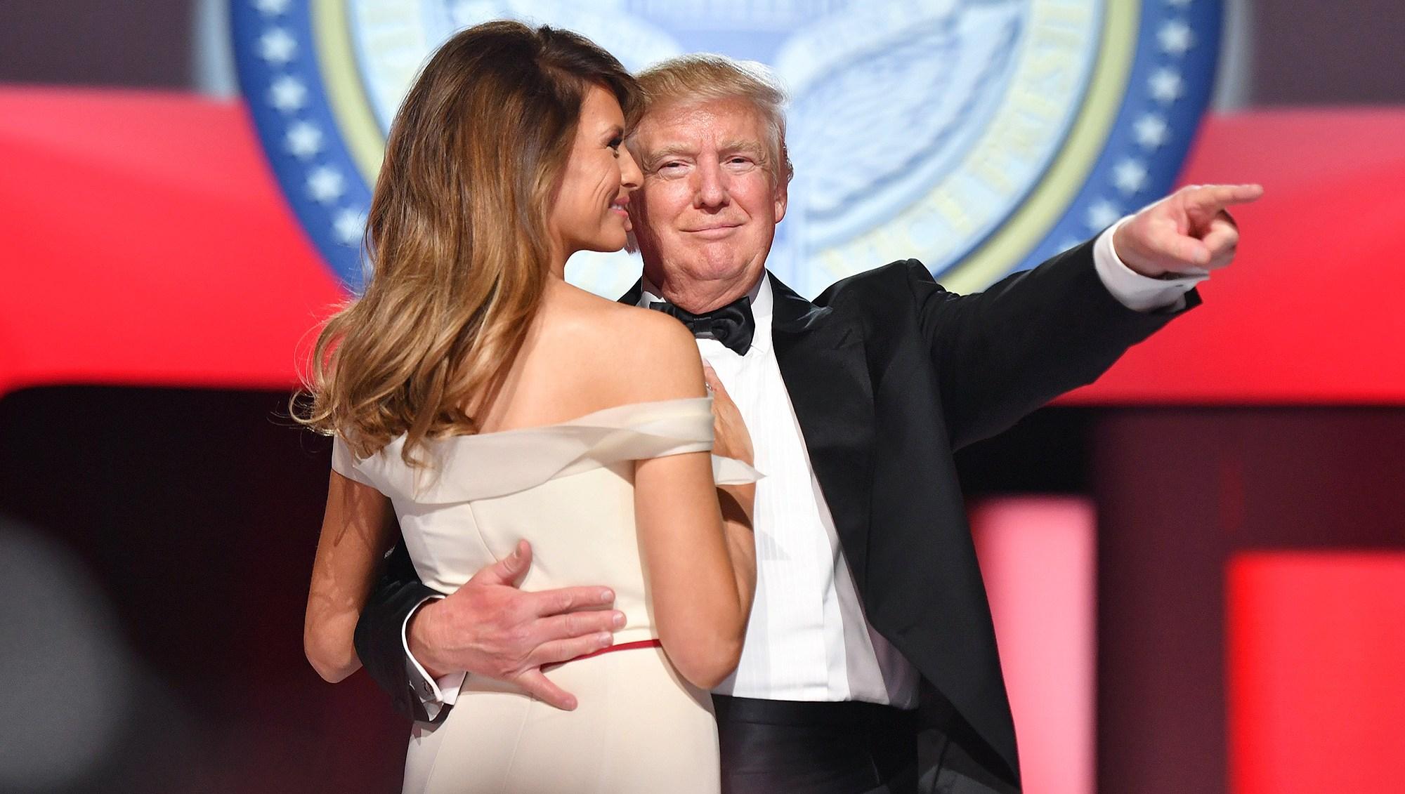 Melania Trump, Donald Trump, Next to Leave, Gridiron Dinner