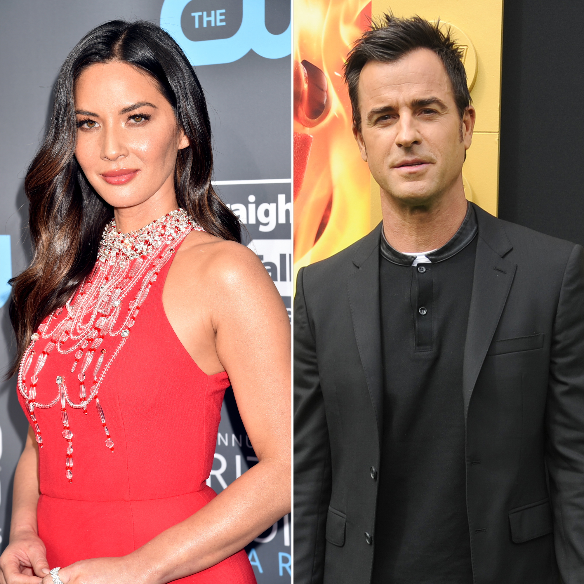 Olivia Munn and Justin Theroux not dating