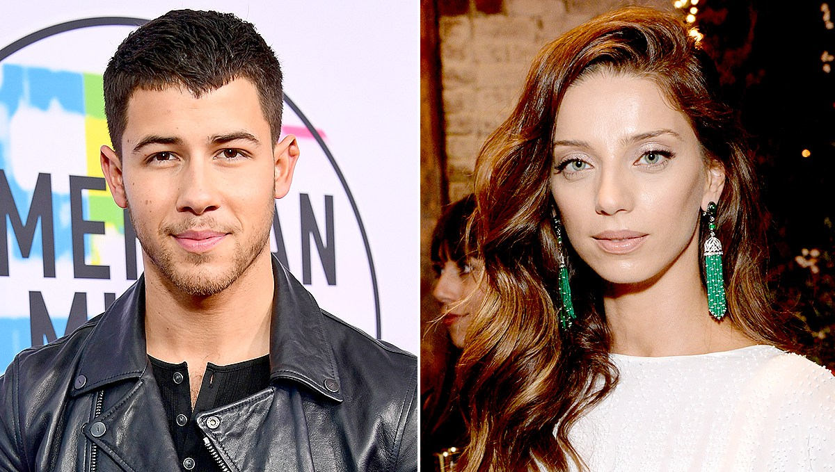 Nick Jonas and Angela Sarafyan