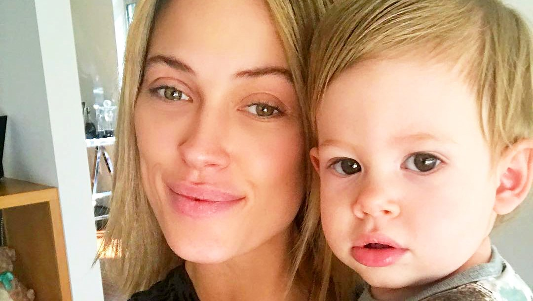 Peta Murgatroyd and son Shai