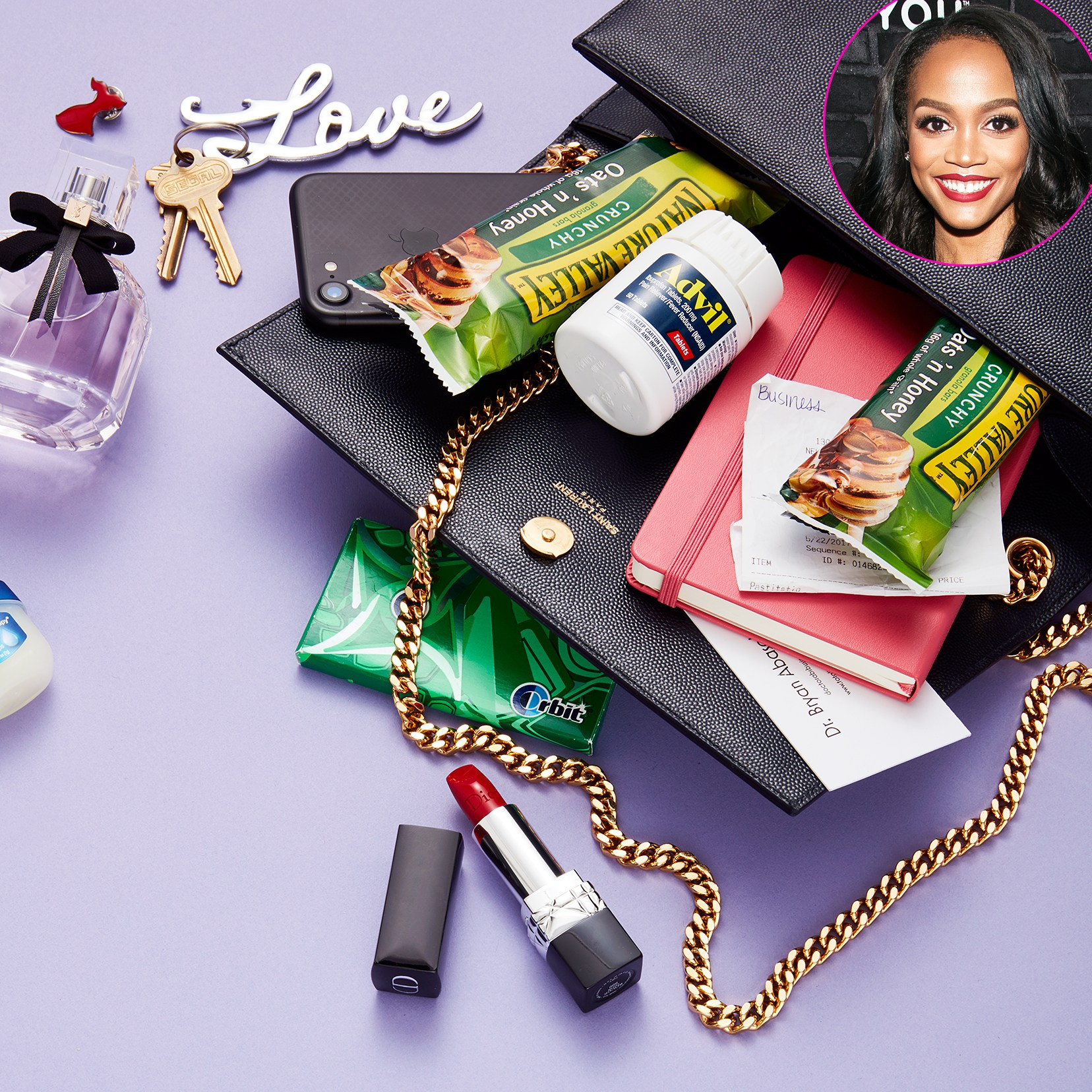 Rachel Lindsay What's In My Bag