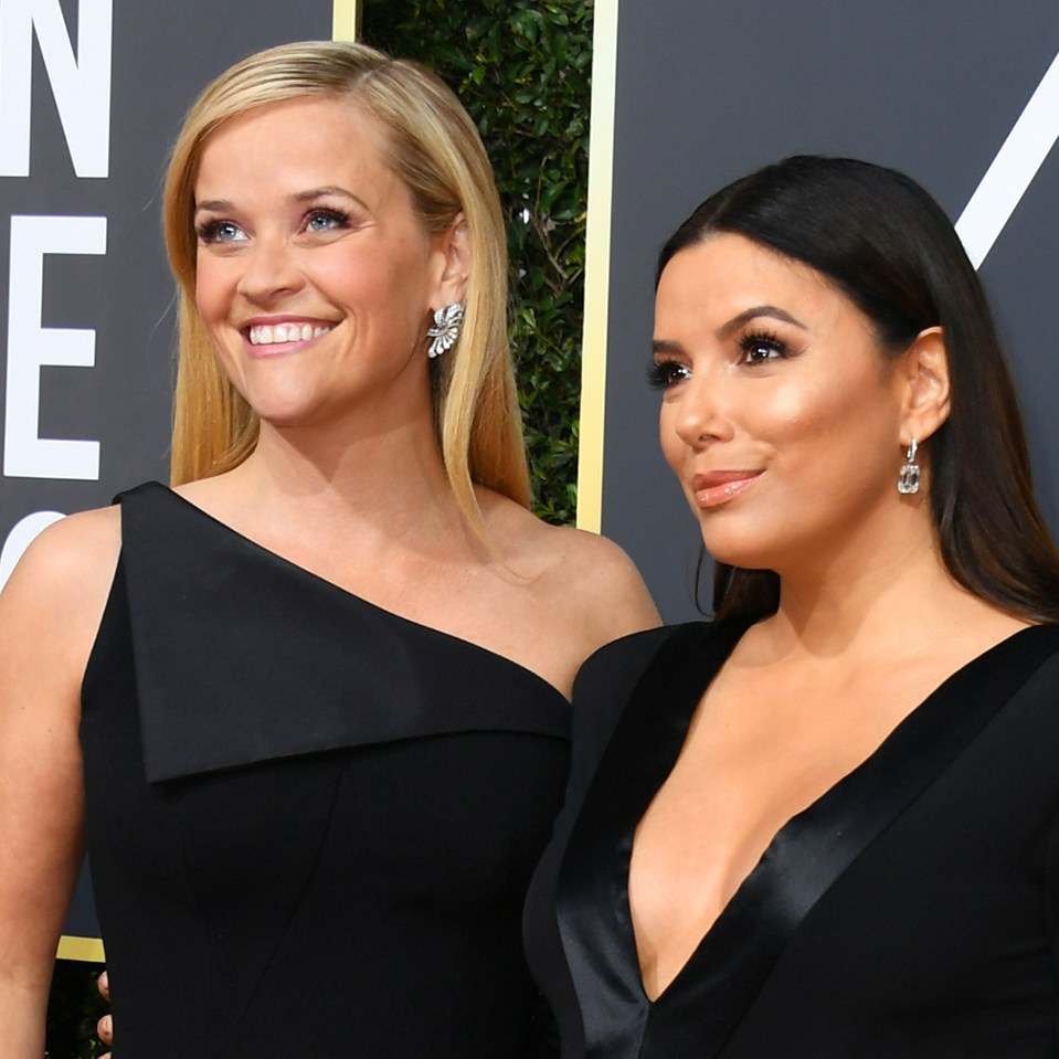 Reese Witherspoon and Eva Longoria