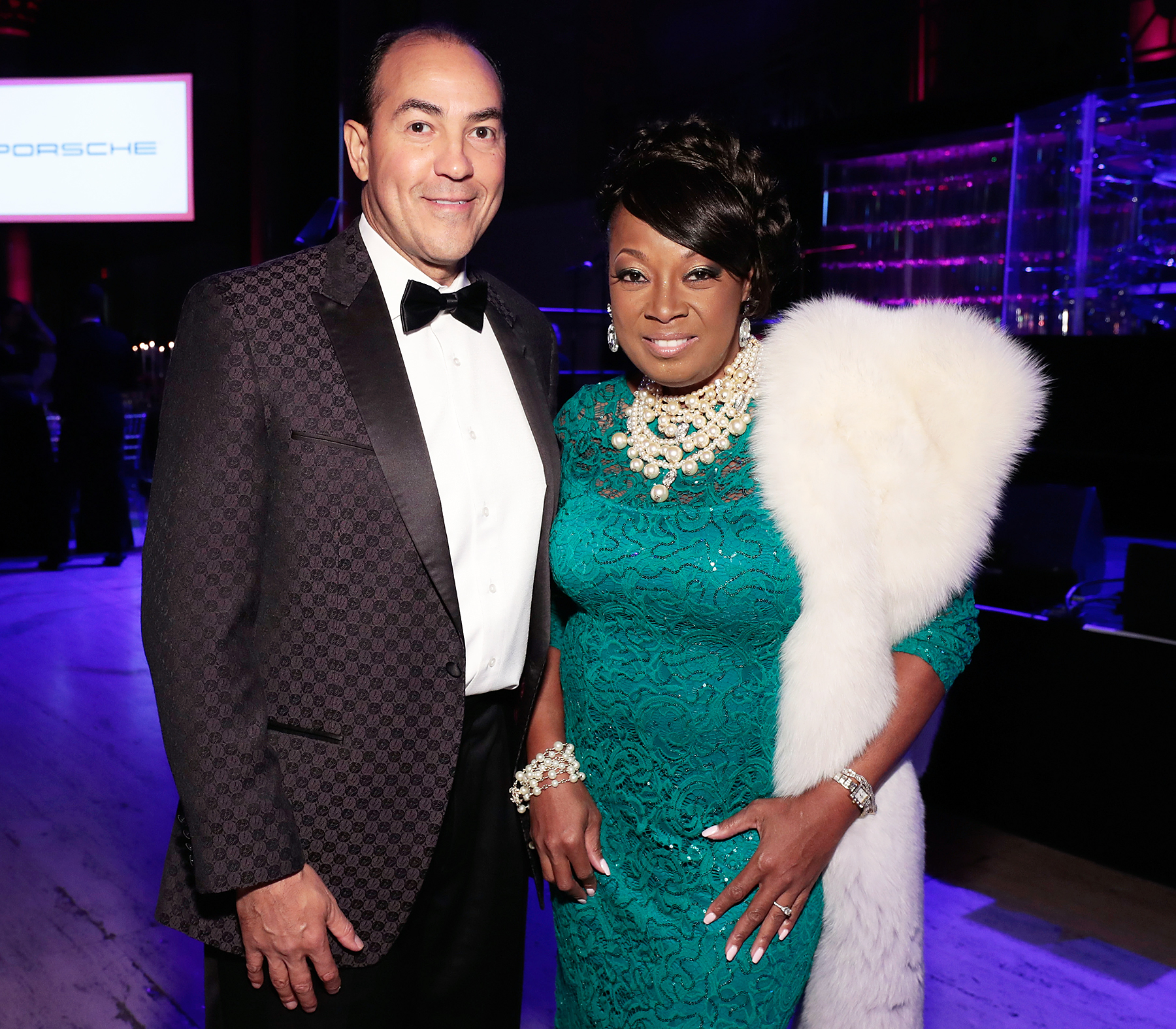 Star Jones Marries Ricardo Lugo on a Cruise Ship in the Bahamas