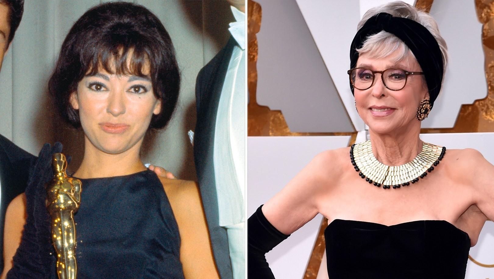 rita-moreno same dress 1962 Oscars 2018
