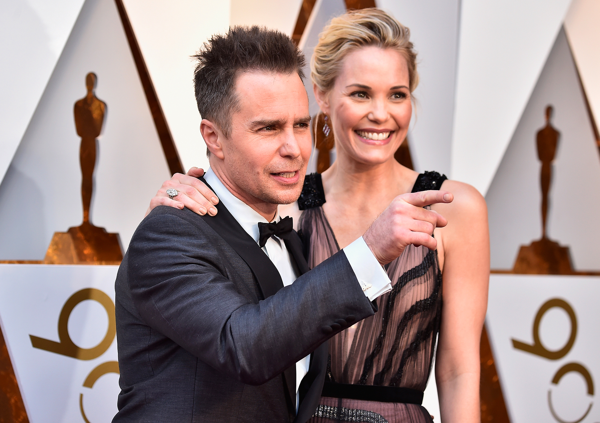 Oscars: Sam Rockwell Wins Best Supporting Actor for 'Three Billboards'