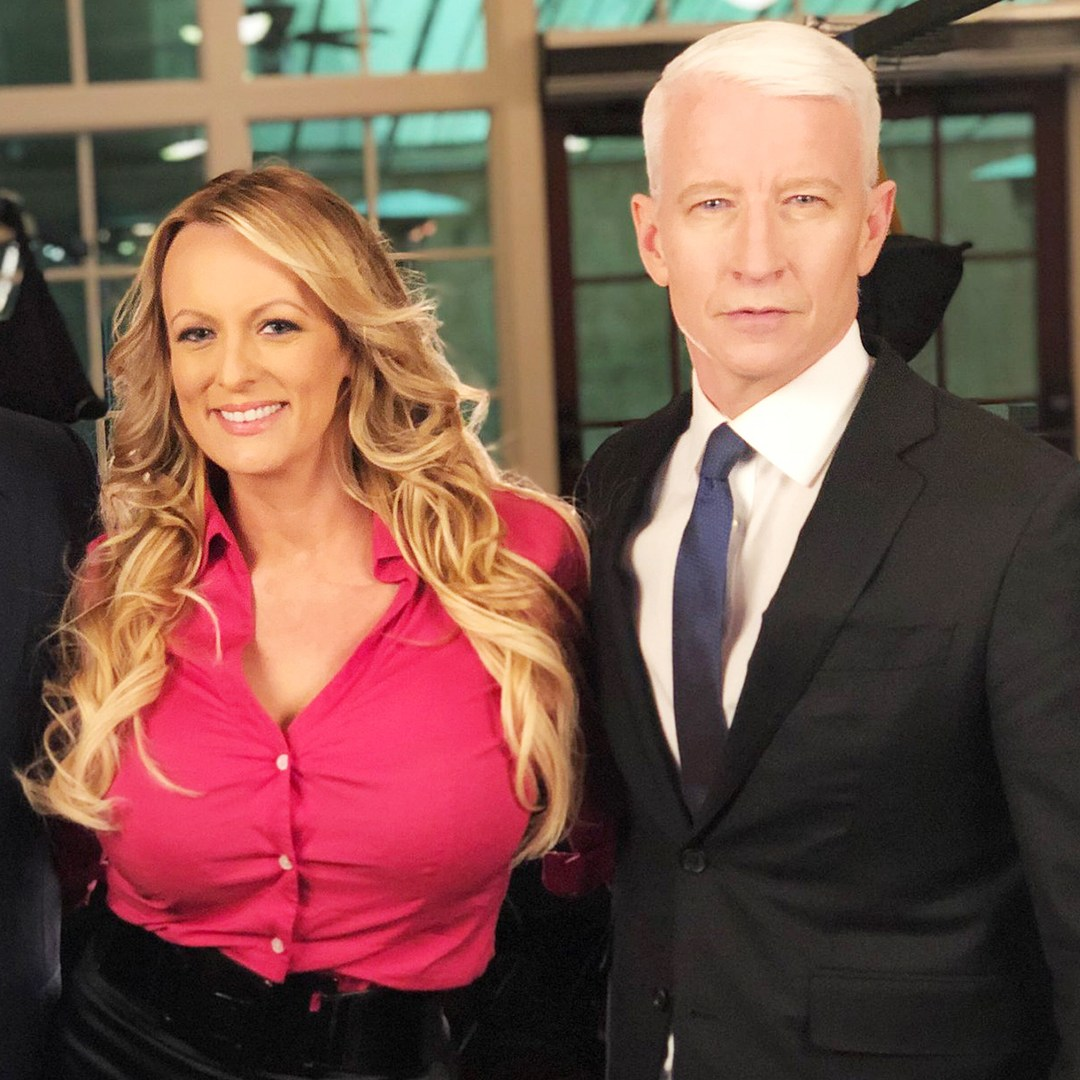 Stormy Daniels Interviewed by Anderson Cooper for 60 Minutes