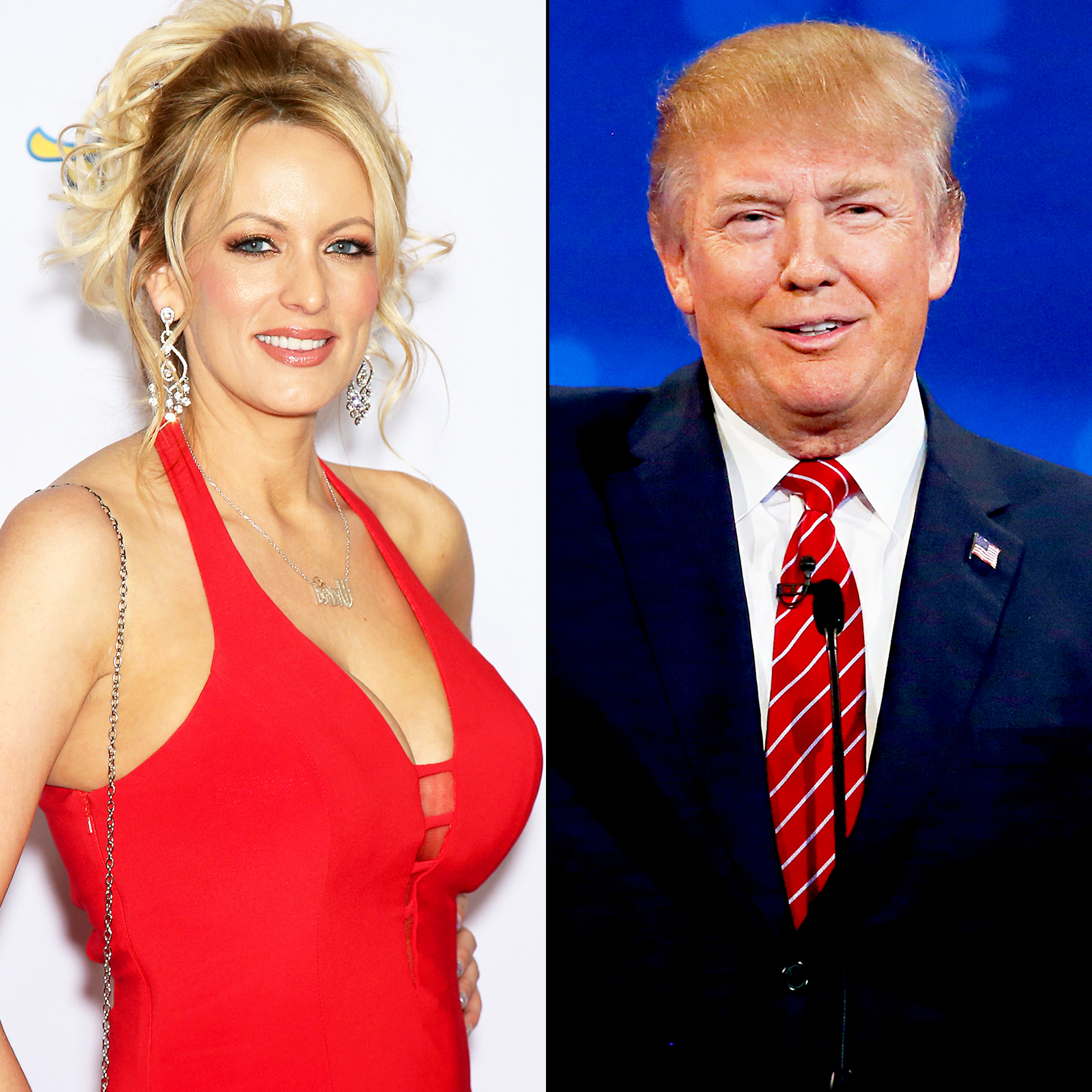 Porn actress Stormy Daniels threatened by Trump's people