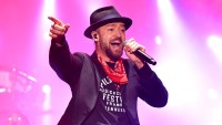 Justin Timberlake tour 2018 family silas