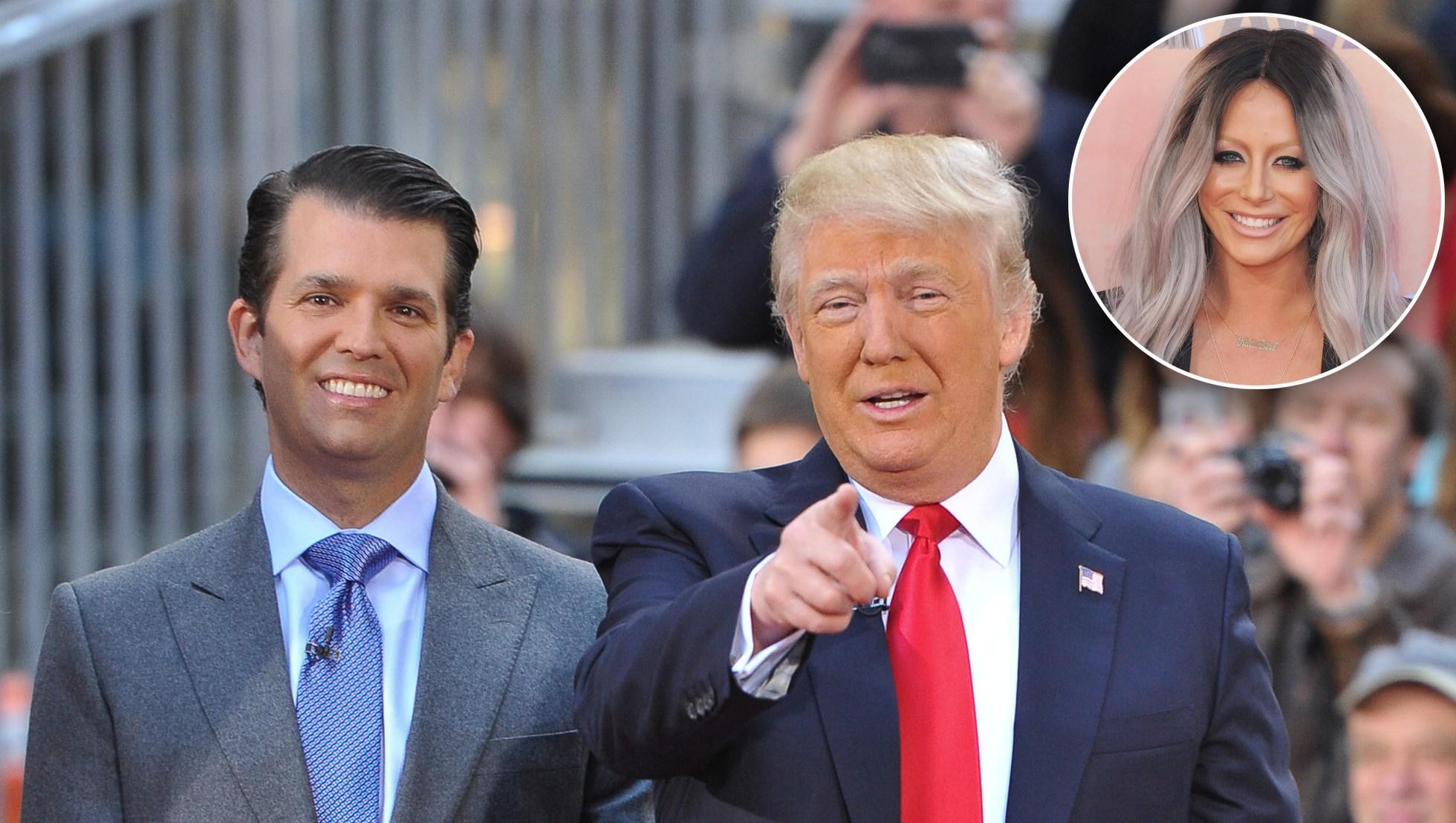 Donald Trump Jr, Donald Trump and Aubrey O'Day affair
