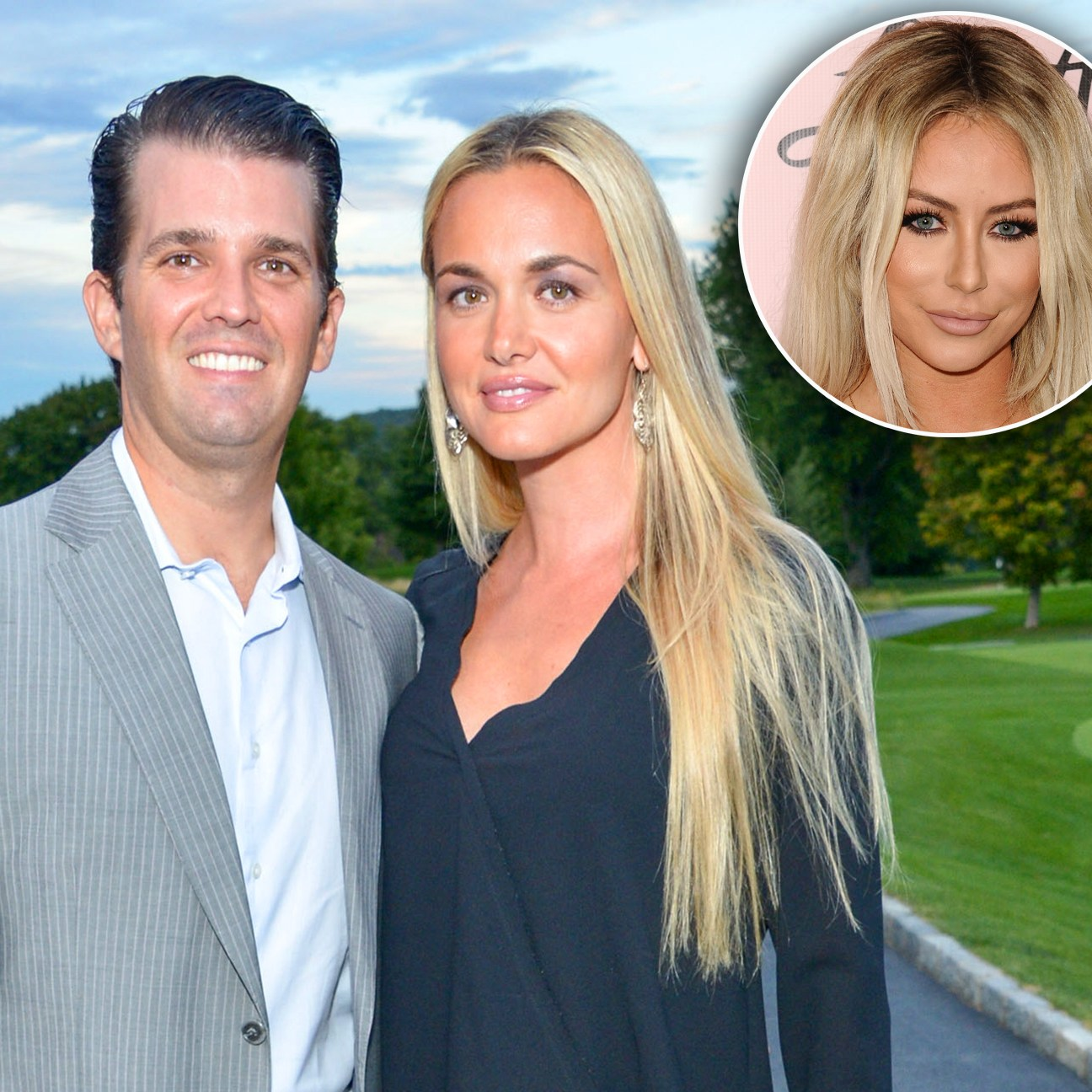 Donald Trump Jr., Vanessa Trump and Aubrey O'Day affair divorce