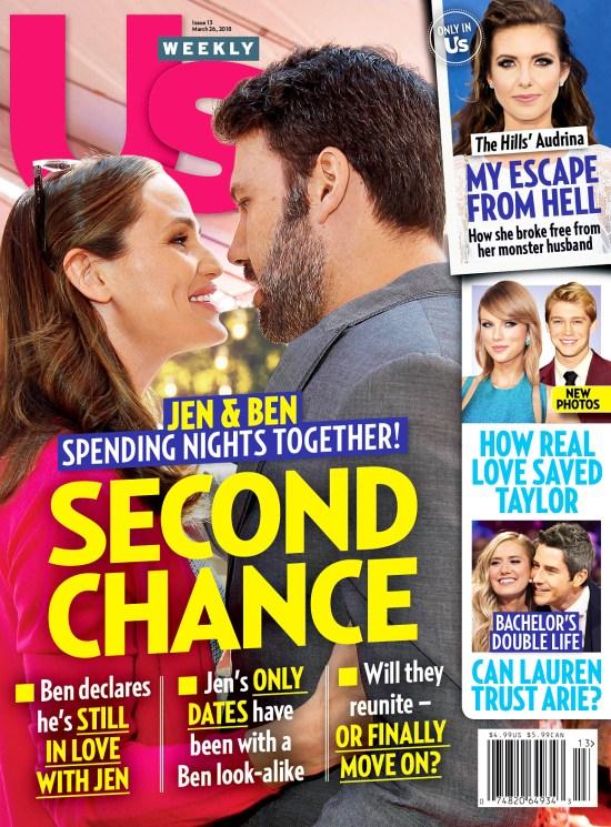 Us Weekly Cover Jennifer Garner Ben Affleck