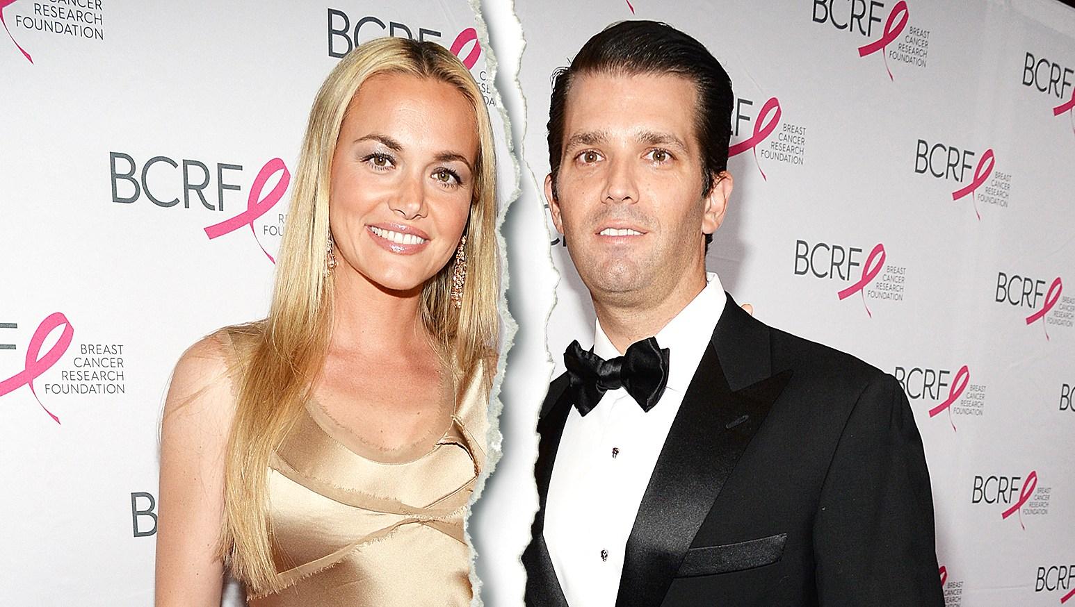 Celebrity Splits of 2018 vanessa trump donald trump jr split