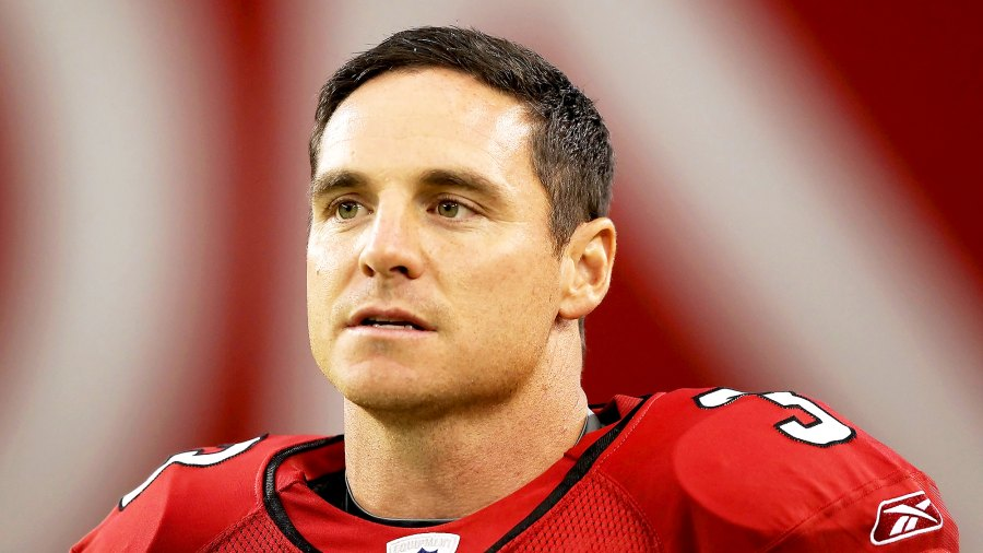 Jay Feely during the preseason NFL game against the San Diego Chargers at the University of Phoenix Stadium on August 27, 2011 in Glendale, Arizona.