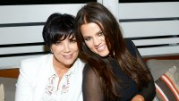 Kris Jenner and Khloe Kardashian attend the 2012 Seventeen Magazine's September Issue Celebration at the W Hotel Westwood in Westwood, California.
