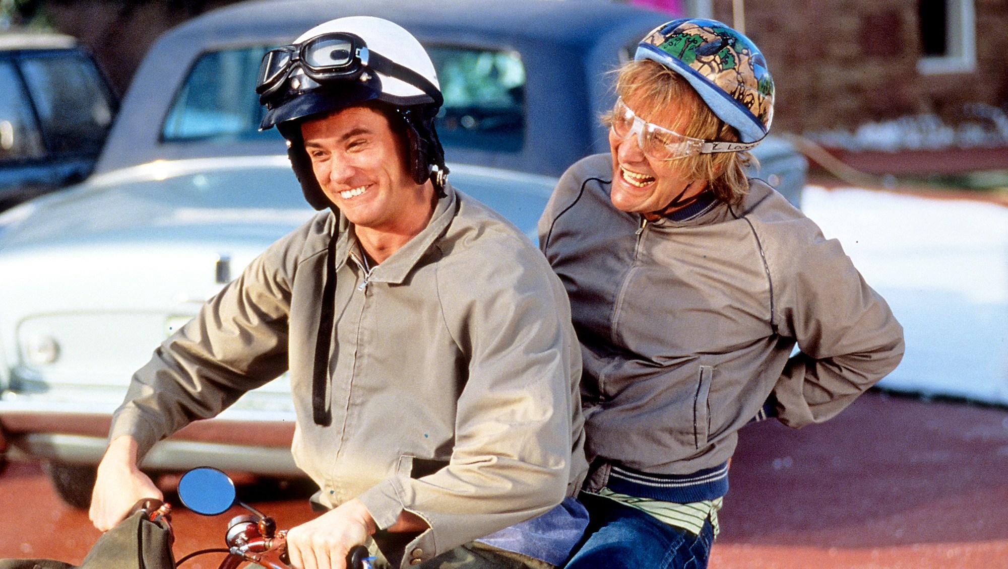 Jim Carrey and Jeff Daniels in 'Dumb and Dumber'