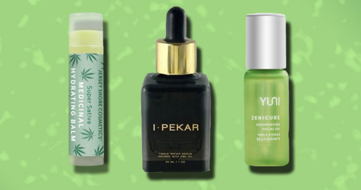 12 CBD Beauty Products, Supplements, Rubs