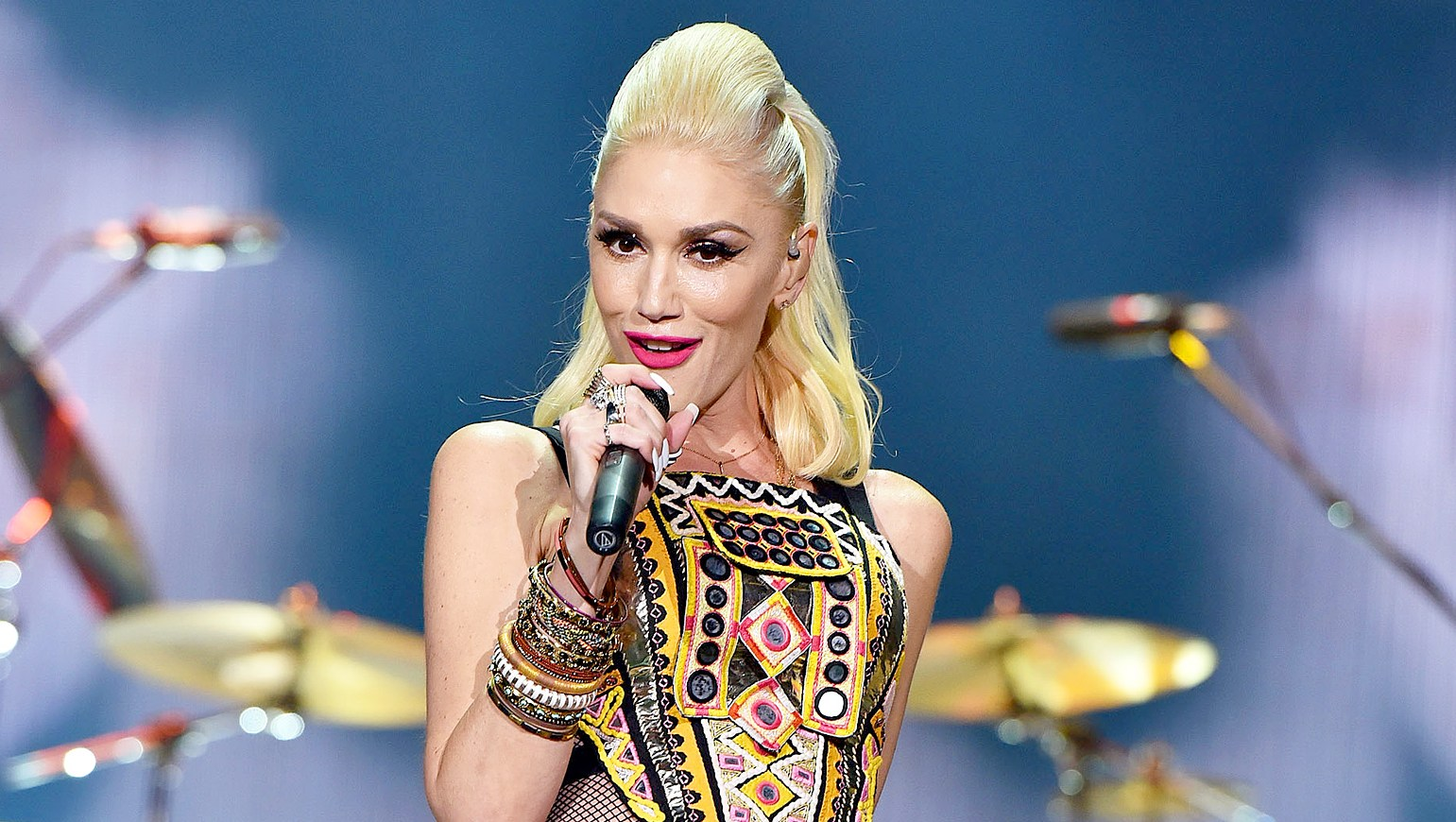 Gwen Stefani performs during the 2015 KAABOO Del Mar at the Del Mar Fairgrounds in Del Mar, California.