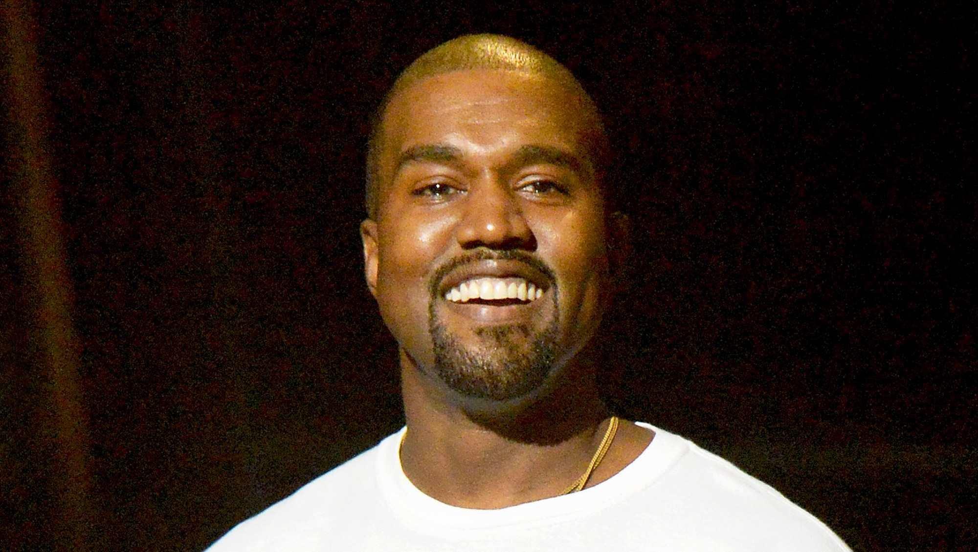 Kanye West during the 2016 MTV Video Music Awards at Madison Square Garden in New York City.