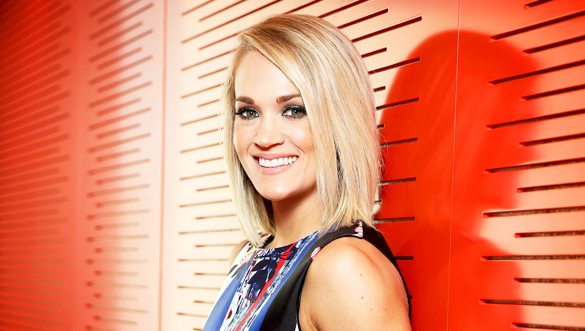 Carrie Underwood poses during a photo shoot in Sydney, New South Wales.