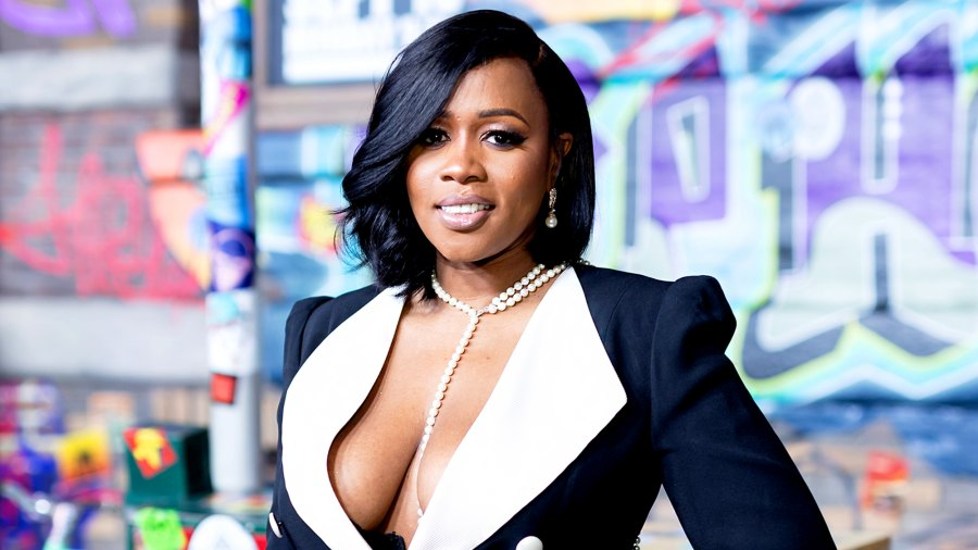 Remy Ma arrives for VH1's Hip Hop Honors: The 90's Game Changers at Paramount Studios in Hollywood, California.