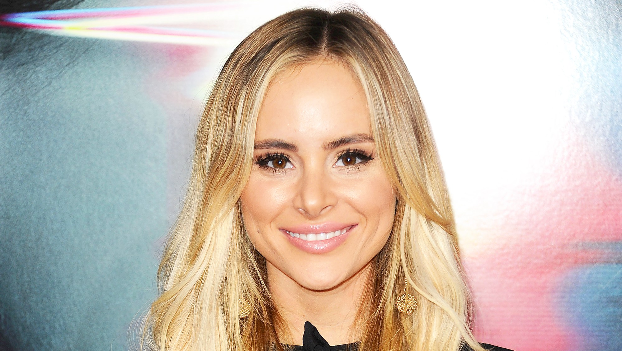 "Amanda Stanton attends the 2017 premiere of ""Flatliners"" at The Theatre at Ace Hotel in Los Angeles, California."