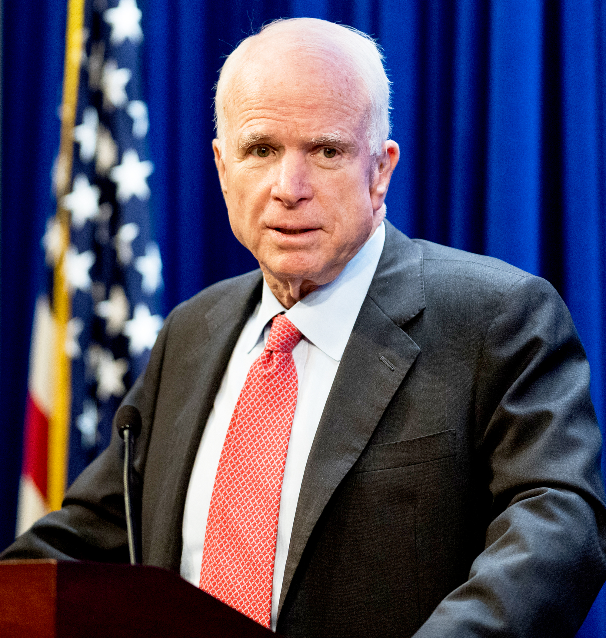 Senator John McCain hospitalized for intestinal infection