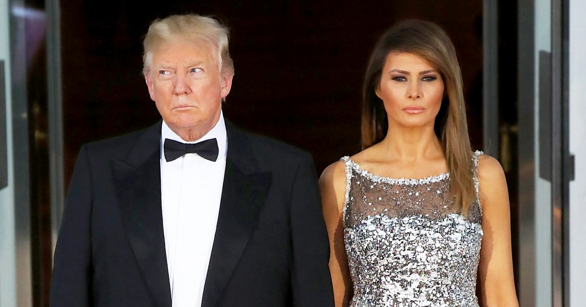 Melania And Donald