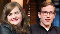 Aidy Bryant and Conner O'Malley marry