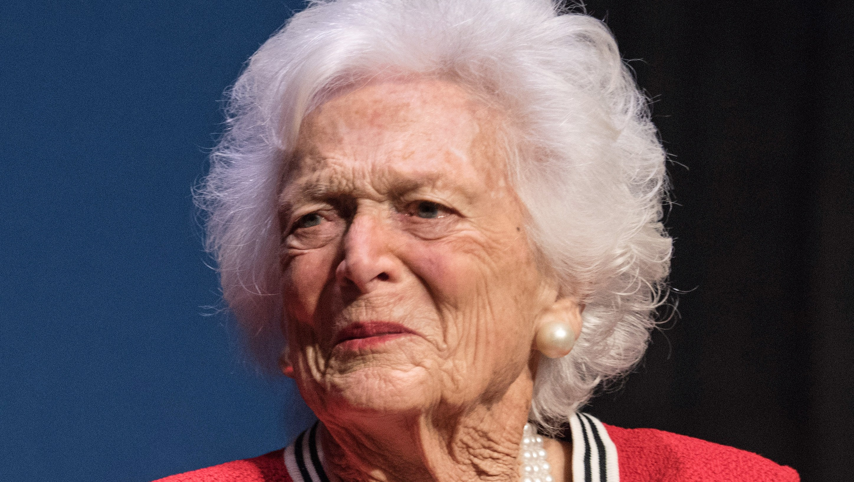 Barbara Bush, Failing Health