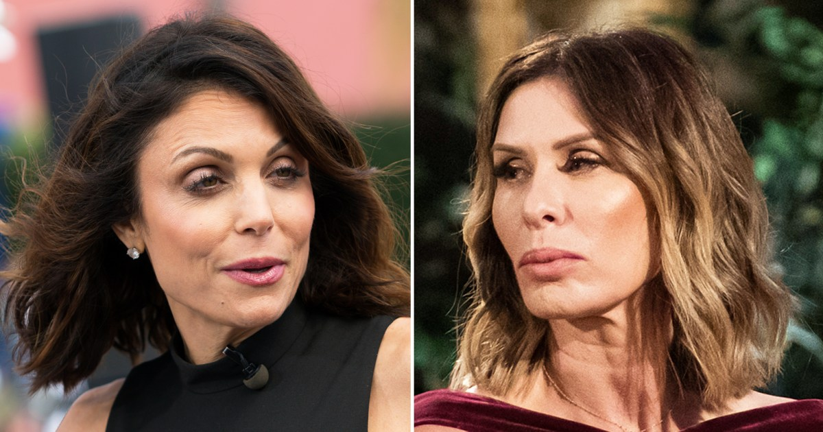 Bethenny Frankel Carole Radziwill Shade Each Other During Rhony