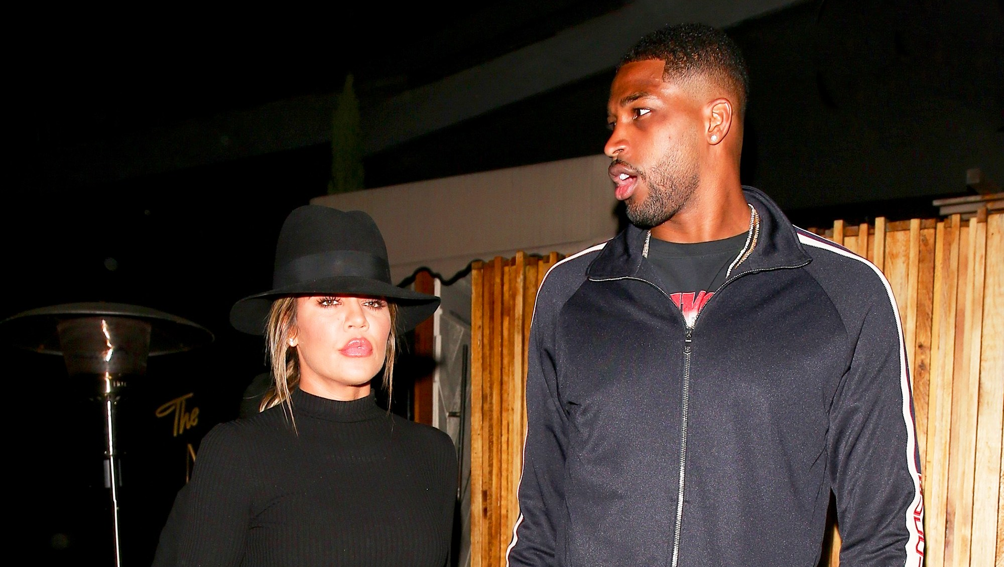Khloe Kardashian and Tristan Thompson step out to The Nice Guy on July 6, 2017 in West Hollywood, California.