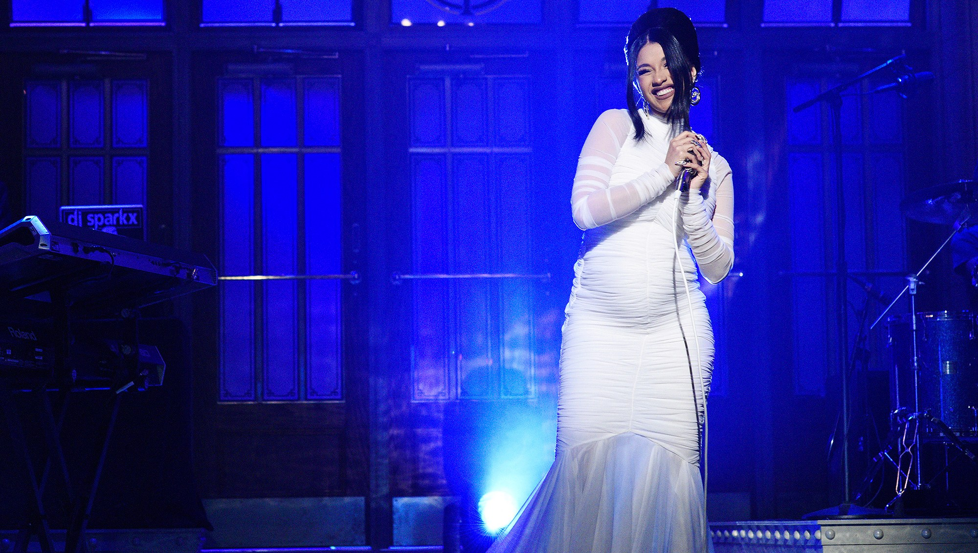Cardi B, Pregnant, Saturday Night Live, Performance, Offset