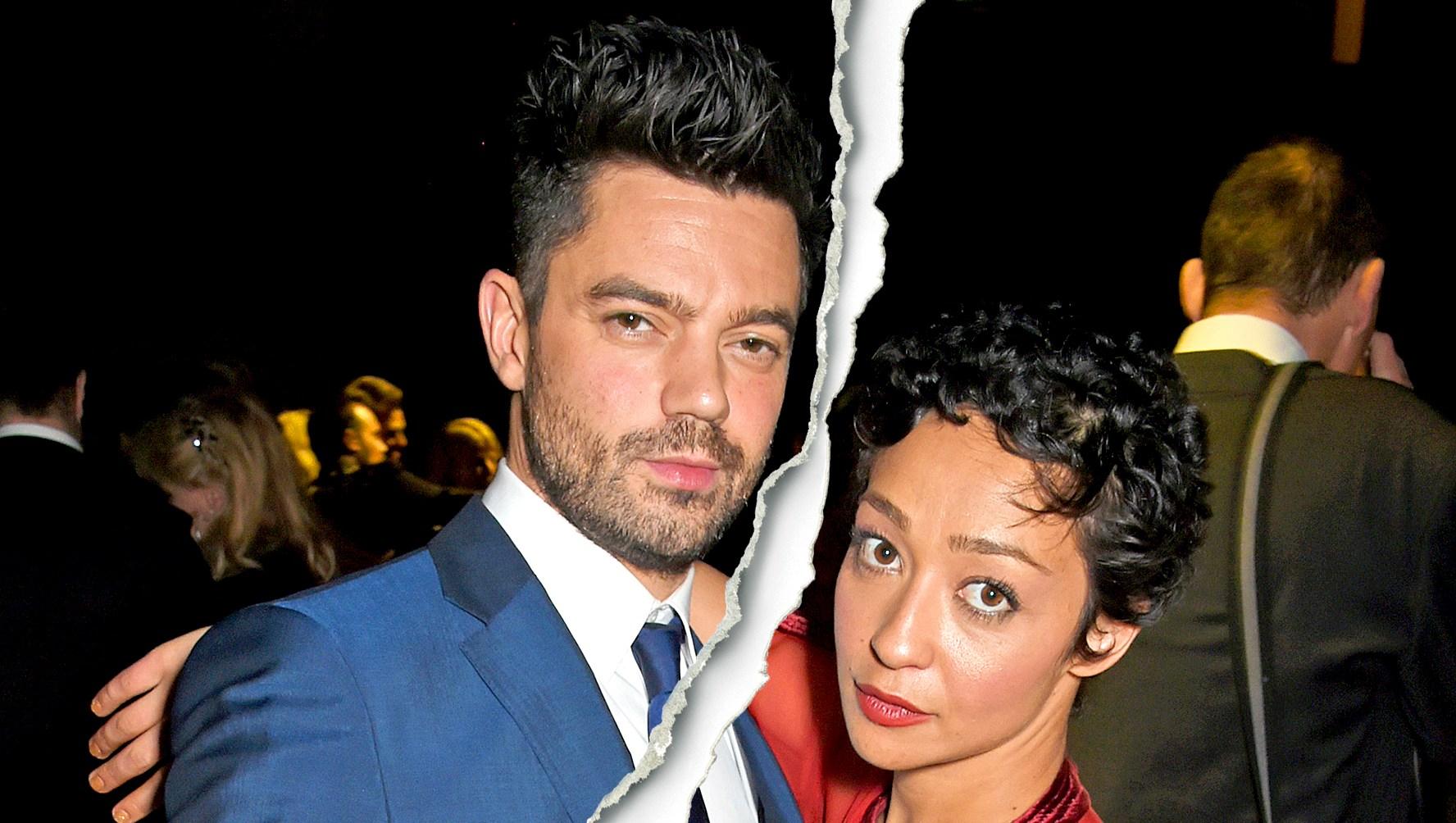 Celebrity Splits of 2018 dominic cooper and ruth negga split1