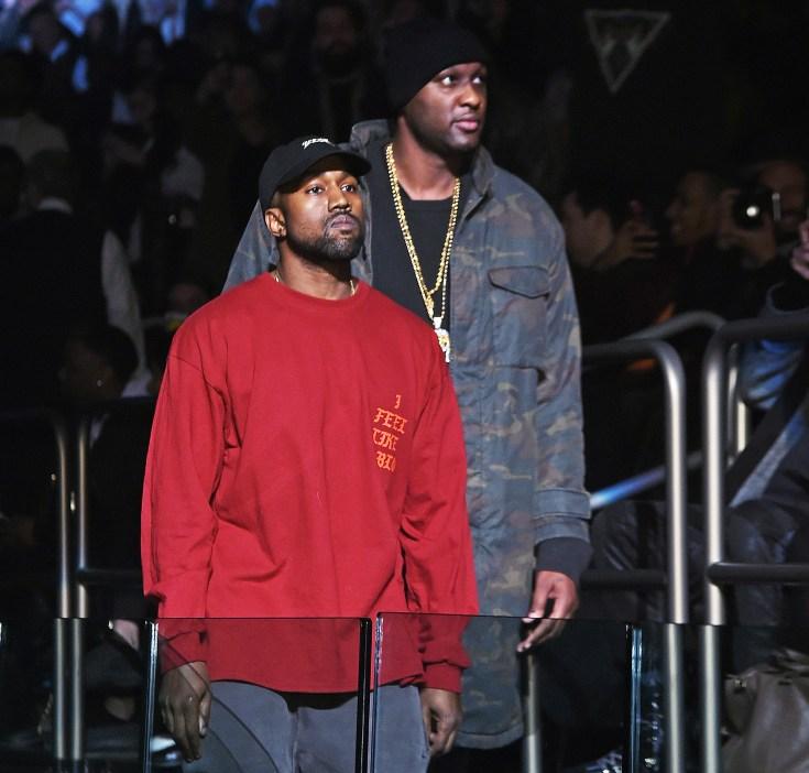 Kanye West Lamar Odom