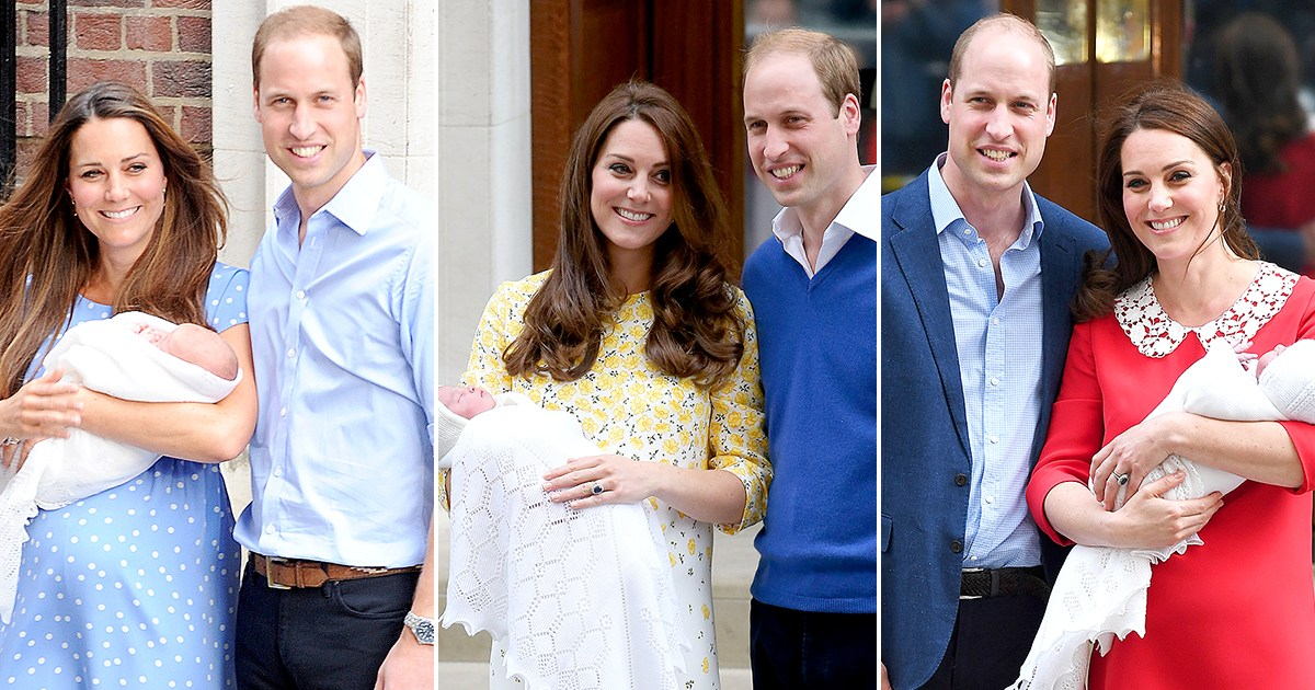 Revisit Duchess Kate's First Post-Baby Appearances Outside London Hospital