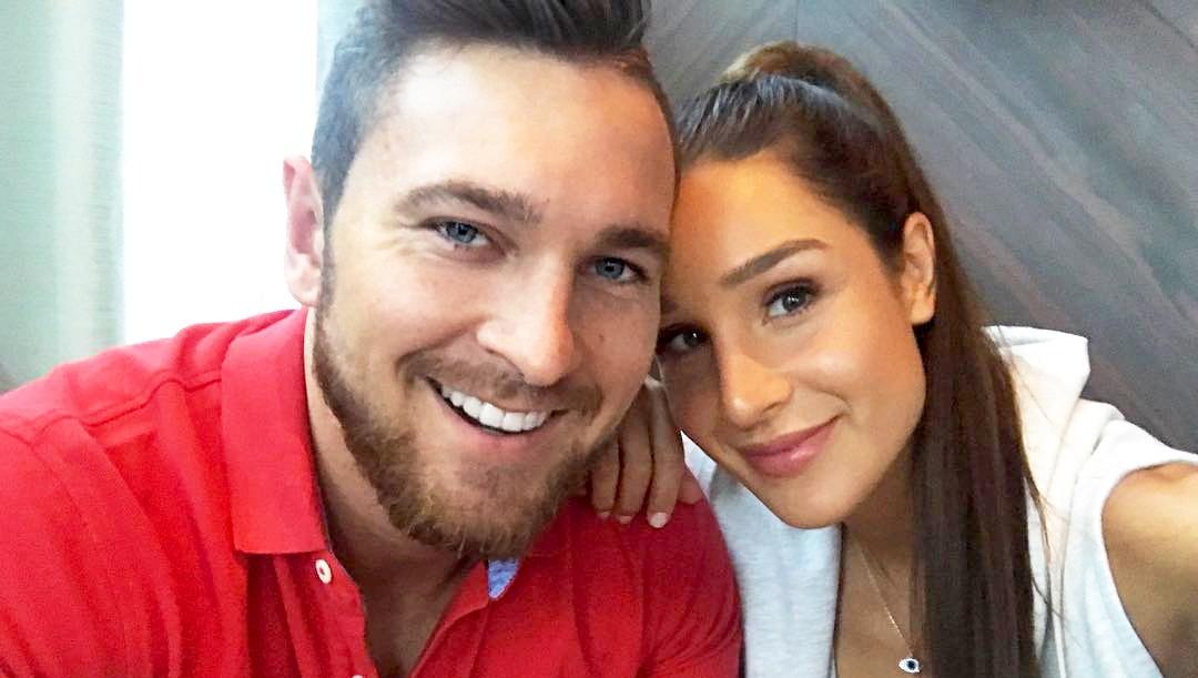 Kayla Itsines and Tobias Pearce