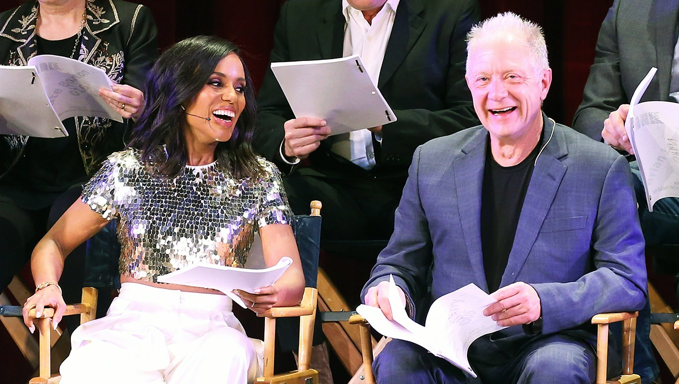 Kerry Washington Scandal live stage reading