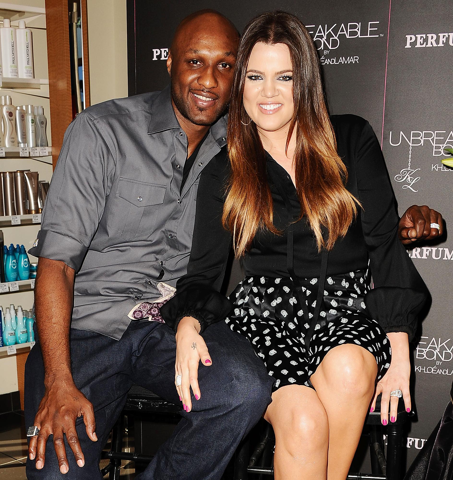 Khloé Kardashian Says Lamar Odom Was the Love of Her Life