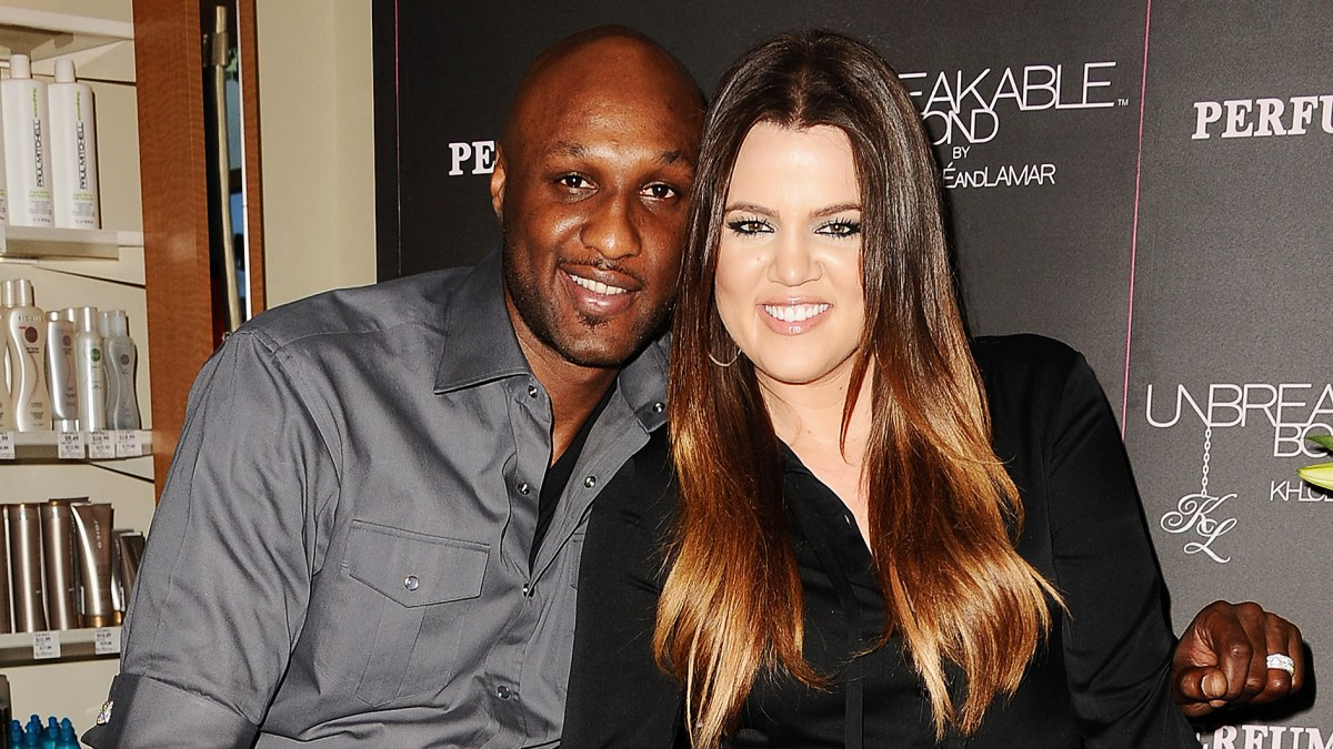 Image result for khloe kardashian and lamar odom