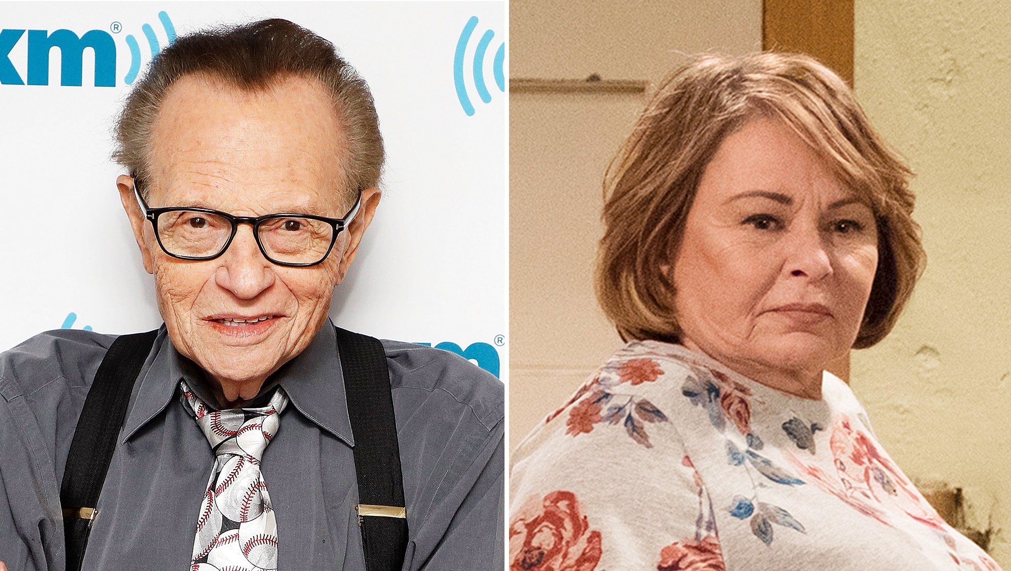 Larry King Thinks Roseanne Has Great Political Balance