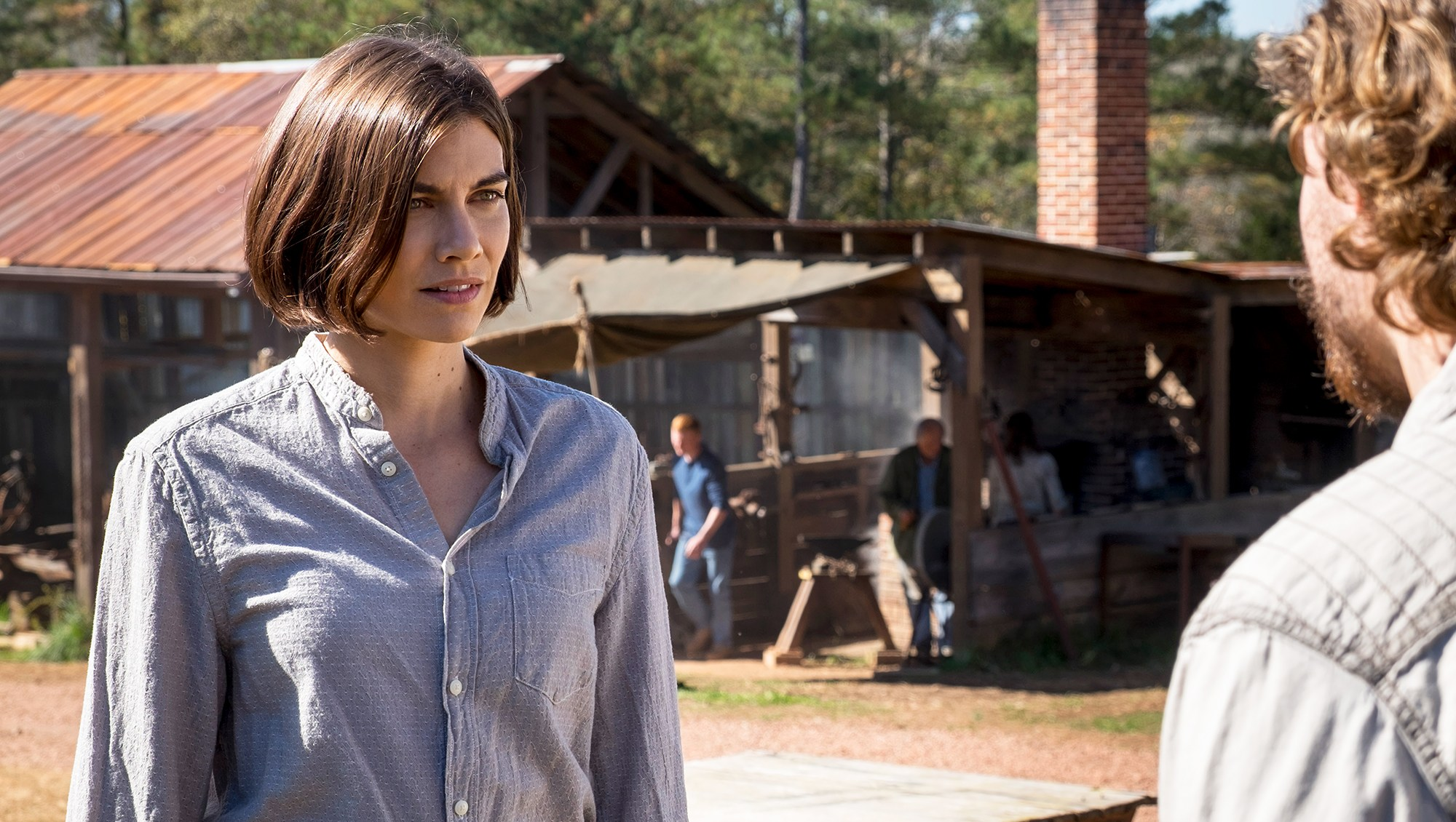 Lauren Cohan Returns The Walking Dead