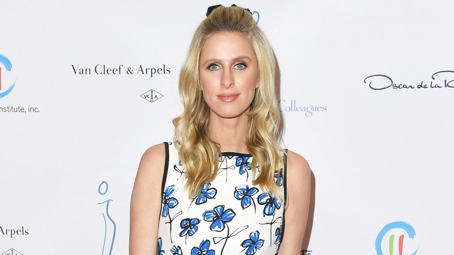 Nicky Hilton pacifiers