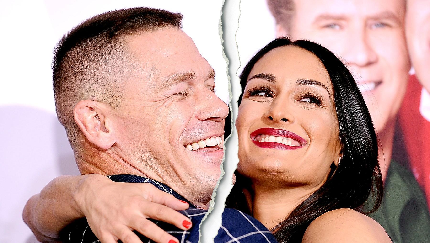 Celebrity Splits of 2018 nikki bella john cena split1